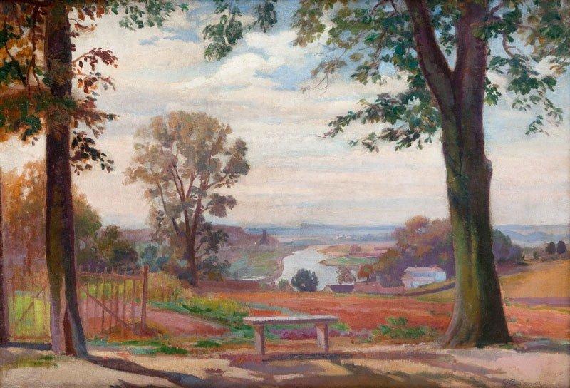 22: Ignacy Pienkowski (1877 Dolubow - 1948 Cracow) Land