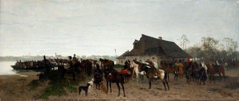 34: Jozef Brandt (1841 Szczebrzeszyn - 1915 Radom) Cros