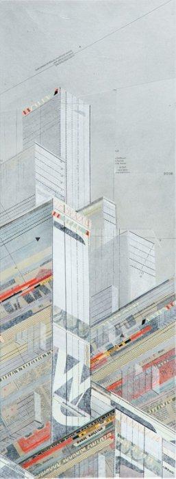 25: Chazme718 (b. 1980 , Laufen) Megapolis_W, 2012  mix