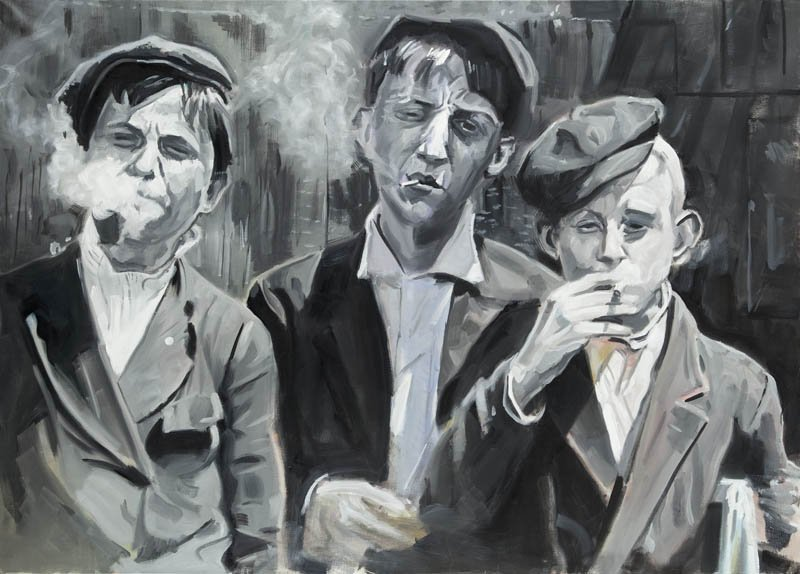 Franciszek Ledochowski (b. 1981 , Warsaw) Callow Youths