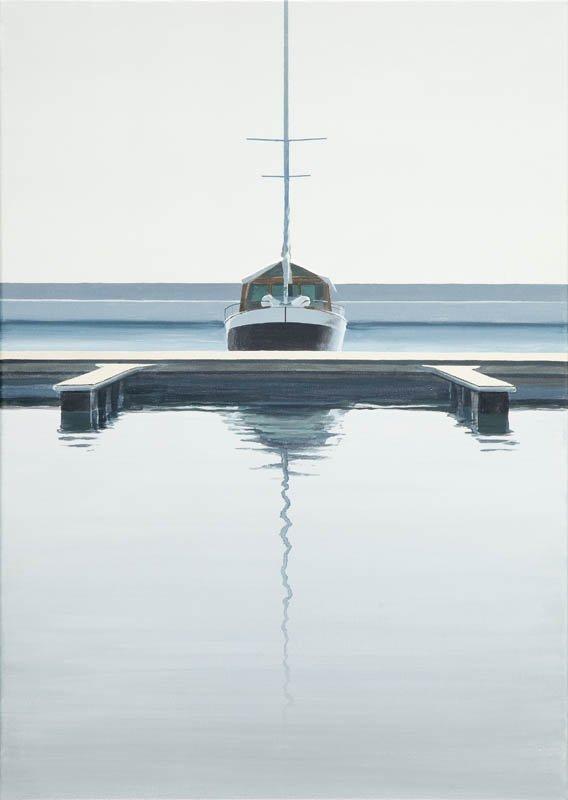 Tomasz Kolodziejczyk (b. 1976 ) Yacht, 2012  acrylic/ca