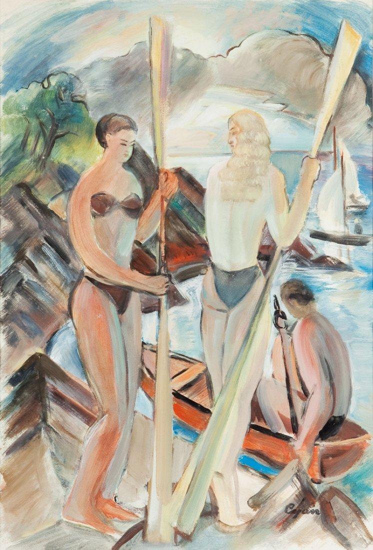 Zdzislaw Cyankiewicz (1912 Czechowice - 1981 Paris) By