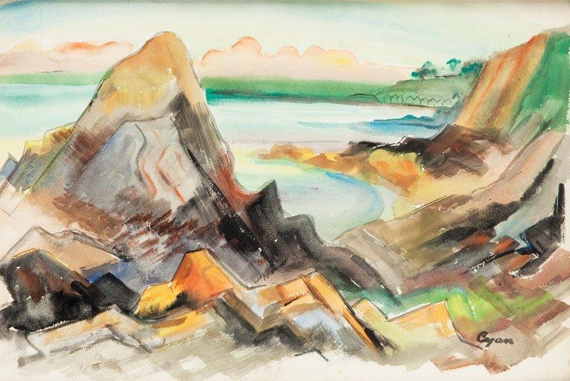 Zdzislaw Cyankiewicz (1912 Czechowice - 1981 Paris) Roc