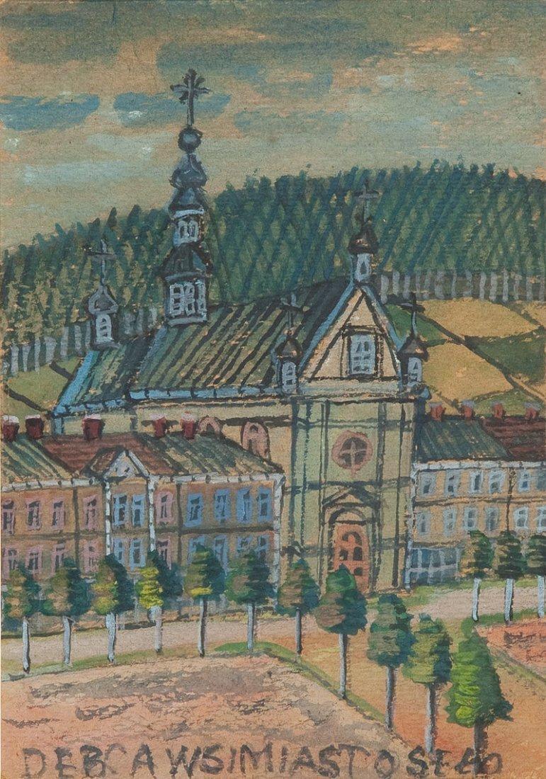 Nikifor Krynicki (1895 Krynica – 1968 Folusz) Church wa