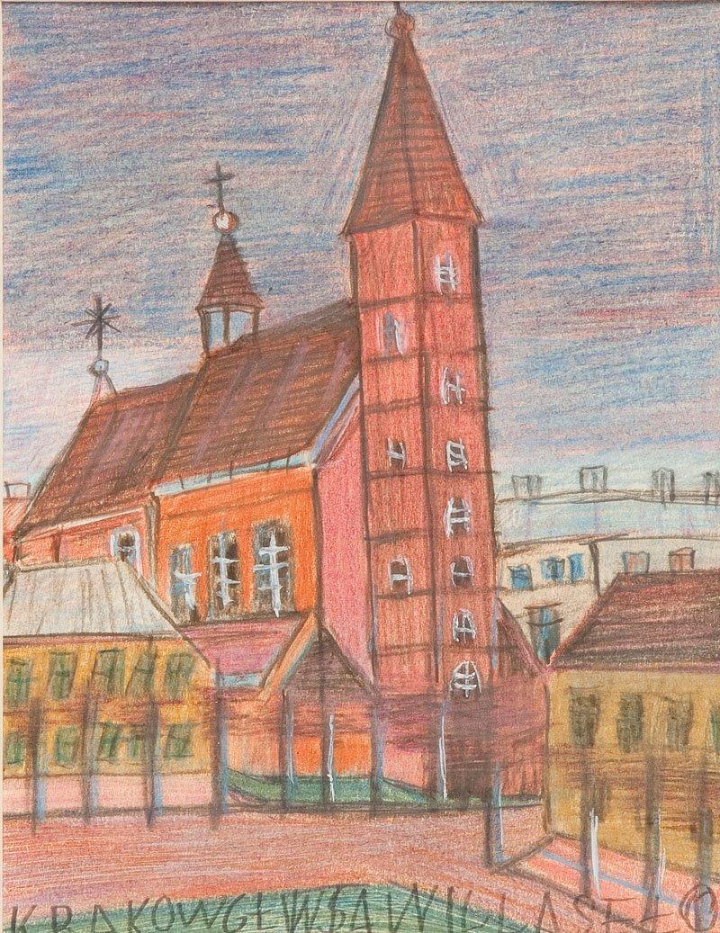 Nikifor Krynicki (1895 Krynica – 1968 Folusz) Mariacki