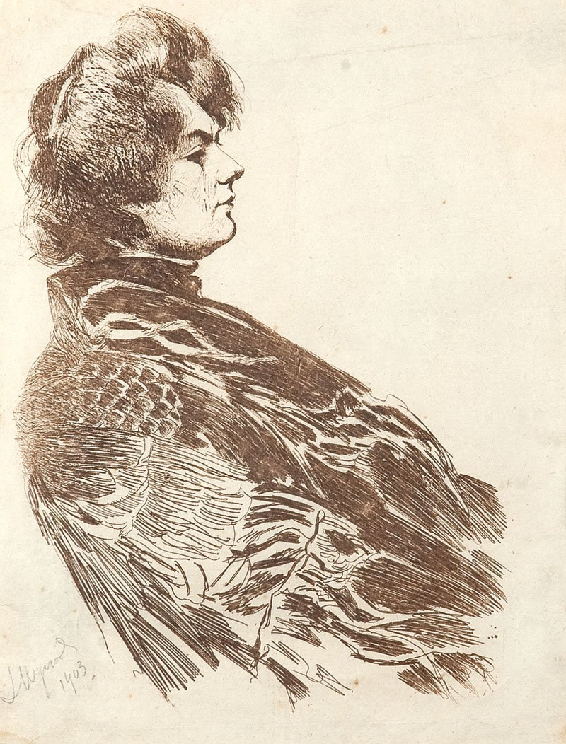 Leon Wyczolkowski (1852 Huta Miastkowska - 1936 Warsaw)