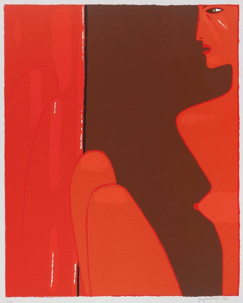Jerzy Nowosielski (1923 Cracow - 2011 Cracow) Nude, 199