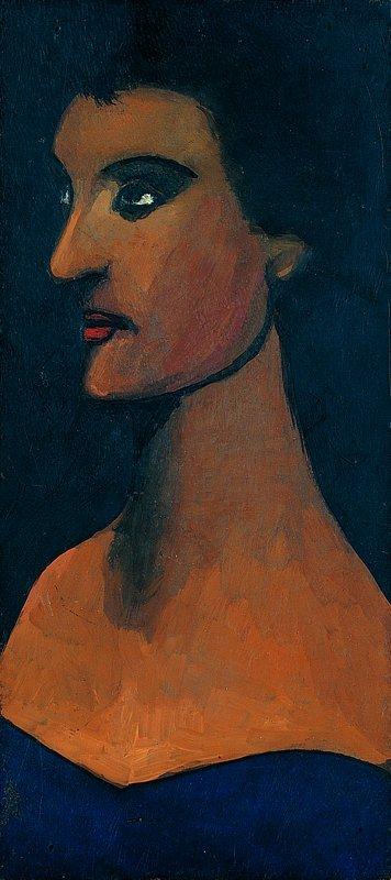 Artist's wife, 1945