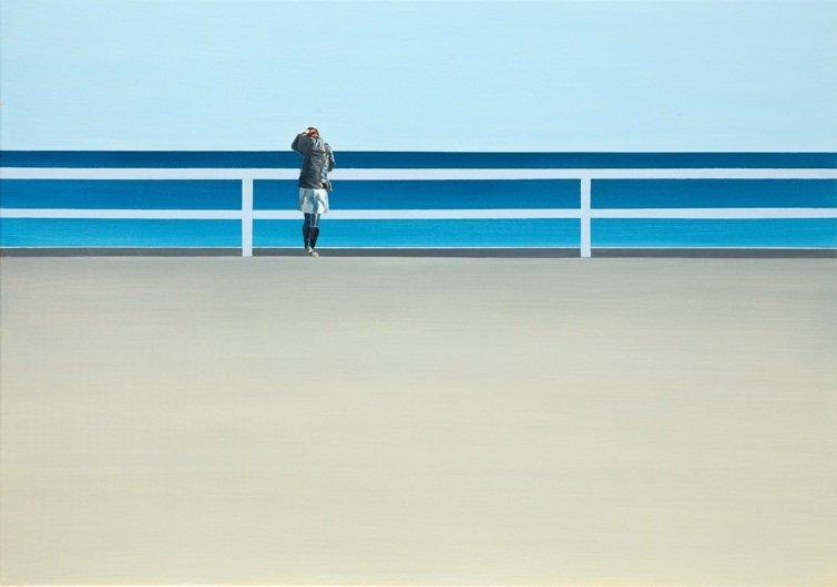 Tomasz Kolodziejczyk (b. 1976 ) Sea, 2013  acrylic/canv