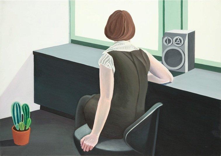 Kinga Nowak (b. 1977 ) Untitled, 2010  oil/canvas, 70 x
