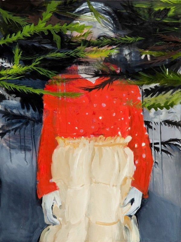 Hanna Ilczyszyn (b. 1984 , Wroclaw) Christmas tree, 201