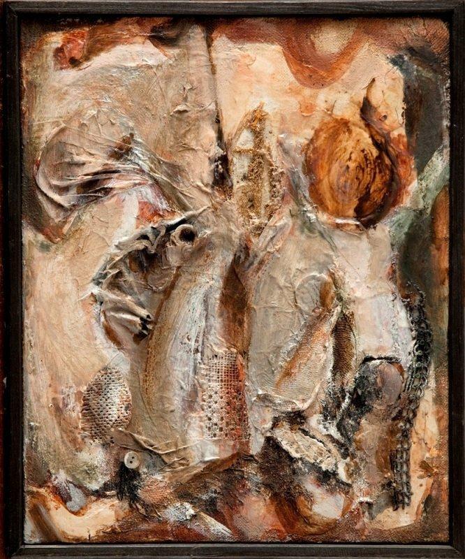 Teresa Rudowicz (1928 Torun - 1994 Cracow) Painting 79/