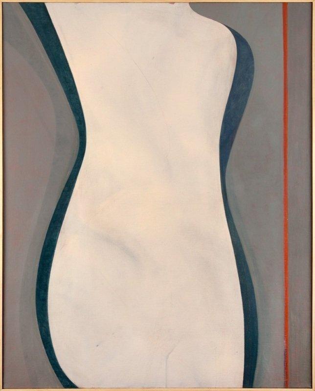 Wladyslaw Jackiewicz  (b. 1924 , Podgrodzie) Painting X