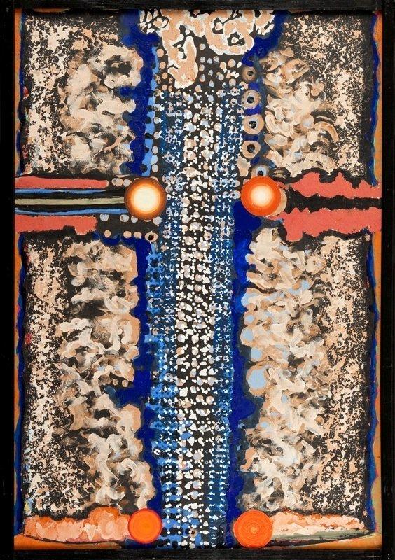 Bronislaw Kierzkowski  (1924 Lodz - 1993 Warsaw) Abstra