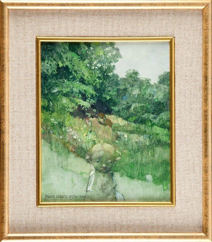 Jerzy Duda-Gracz (1941 Czestochowa - 2004 Lagow) Painti