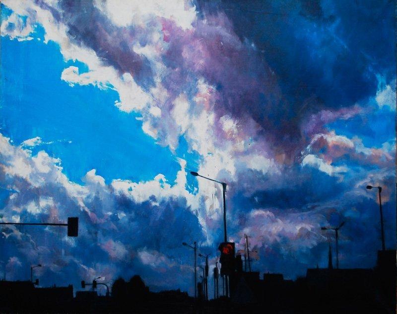 Pawel Slota (b. 1989 , Czestochowa) Journey landscape I