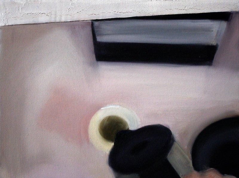 Iga Slupska (b. 1988 ) Untitled, 2010  oil/canvas, 30 x