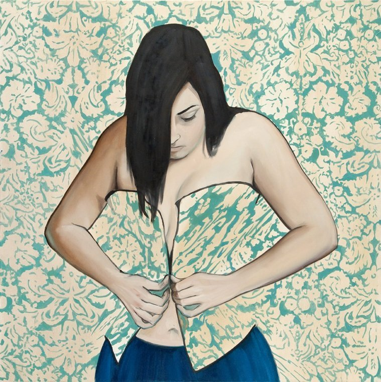 Monika Marchewka (b. 1988 , Chrzanow) Untitled, 2013  o