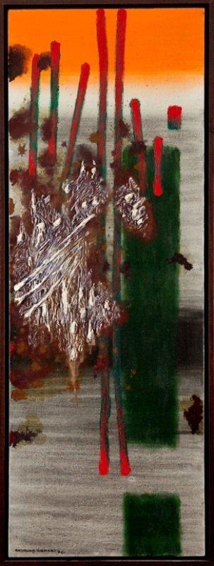Rajmund Ziemski (1930 Radom - 2005 Warsaw) Paysage 20/7