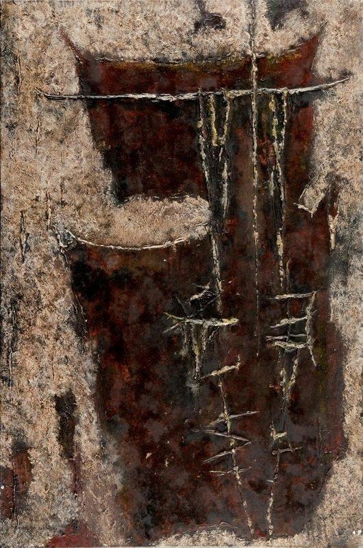 Rajmund Ziemski (1930 Radom - 2005 Warsaw) Paysage  80/