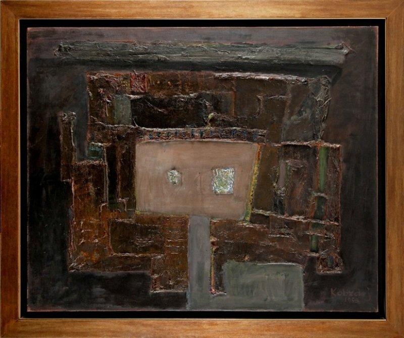 Aleksander Kobzdej (1920 Olesko - 1972 Warsaw) Blind, 1