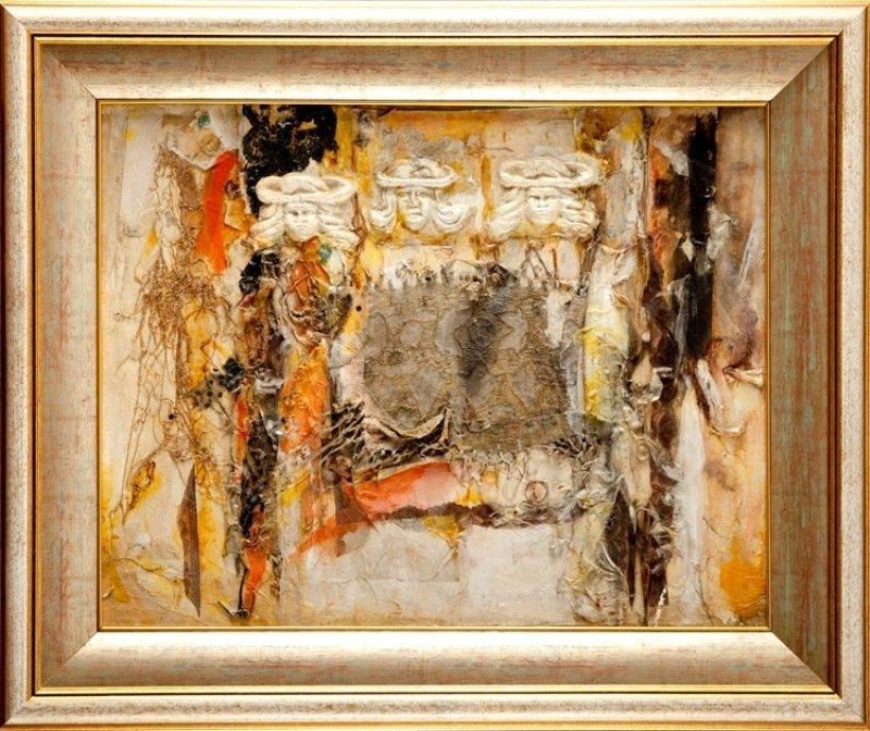 Teresa Rudowicz (1928 Torun - 1994 Cracow) Composition,
