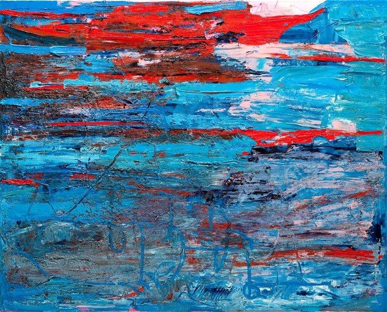 Gossia Zielaskowska (b. 1983 , Poznan) Beaty Blue, 2012