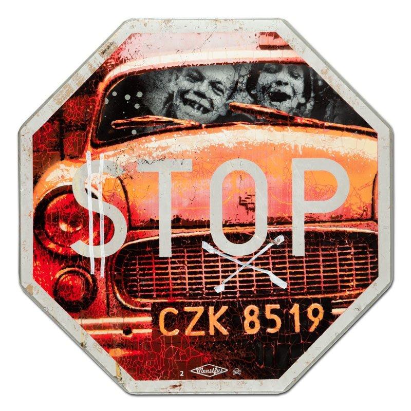 Monstfur (date of constitution: 2006 ) STOP, 2013  sten