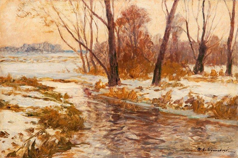 """Michal Gorstkin Wywiorski (1861 Warsaw - 1926 Warsaw) """""""
