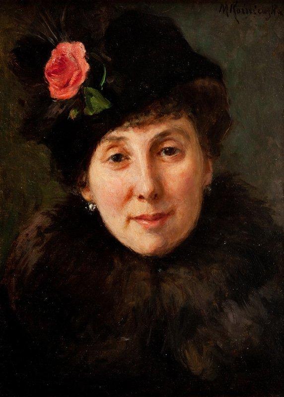 Maria Kozniewska (1875 Warsaw - 1968 Milanowek) Woman i