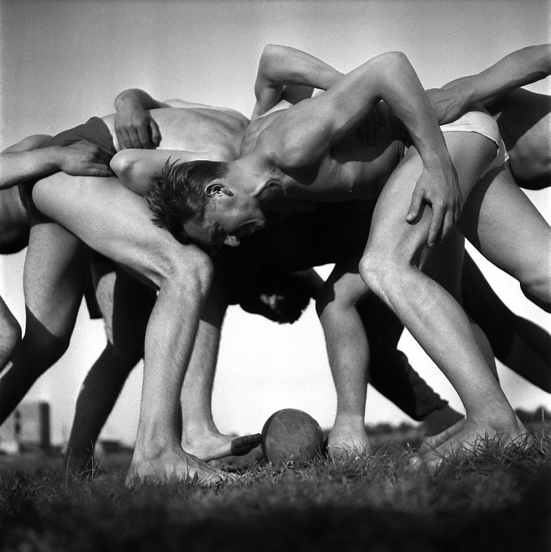 Jan Kosidowski (1922 Lodz - 1992 Warsaw)     Rugby, 1