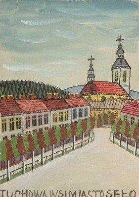 "Nikifor Krynicki (1895 Krynica – 1968 Folusz) ""Tuchowa"