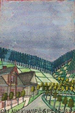 Nikifor Krynicki (1895 Krynica – 1968 Folusz) Road goua
