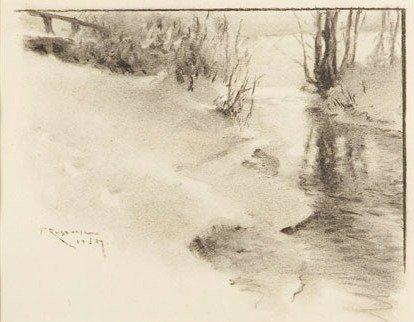 Ferdynand Ruszczyc (1870 Bohdanow near Oszmiana - 1936
