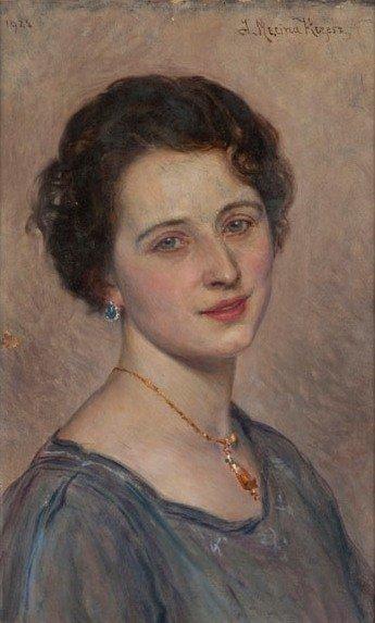 Jozef Krzesz Mecina (1860 Cracow - 1934 Poznan)  Woman