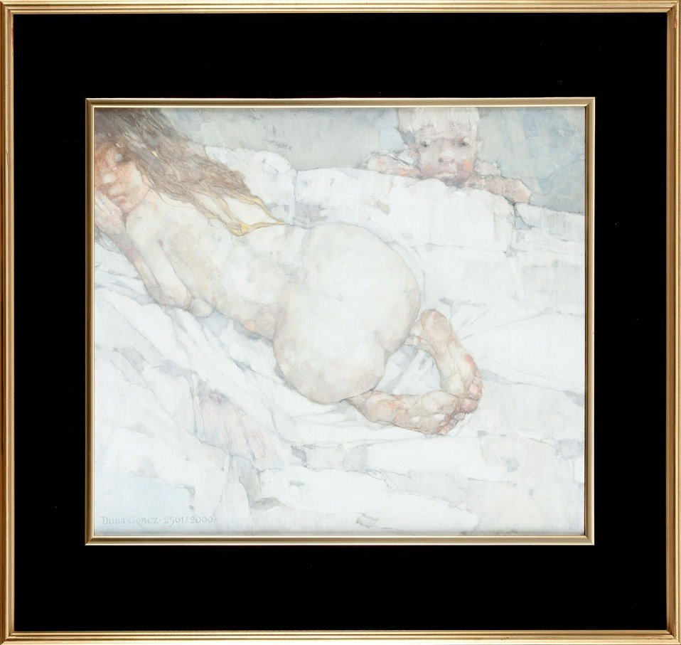 Jerzy Duda-Gracz  (1941 Czestochowa - 2004 Lagow) Paint