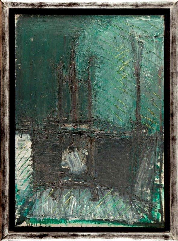Jacek Sienicki (1928 Warsaw - 2000 Warsaw) Interior,