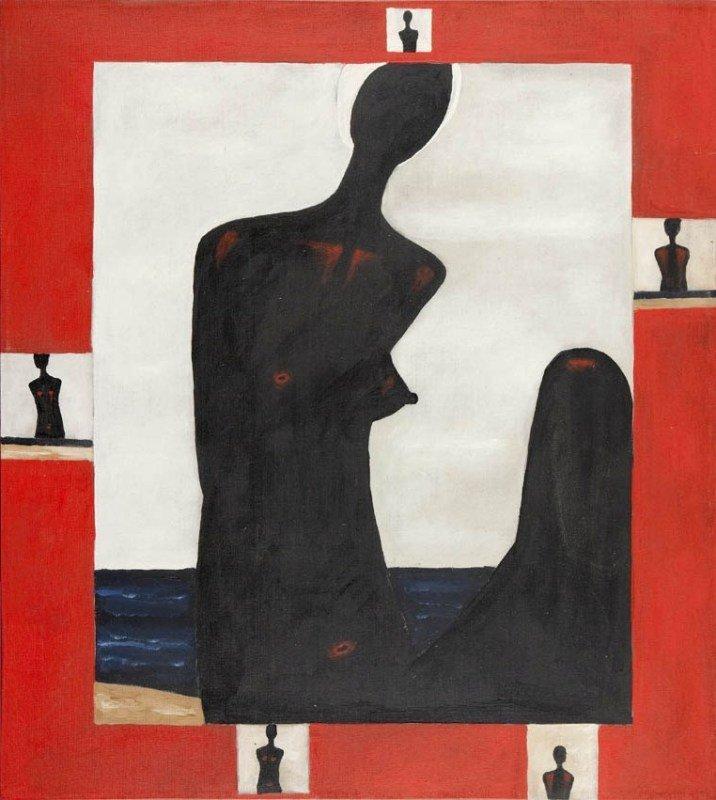 Jerzy Nowosielski  (1923 Cracow - 2011 Cracow) Nude,