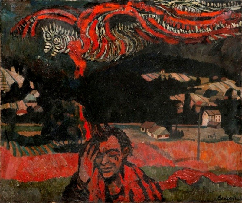 Stefan Suberlak (1928 Piotrowice ?laskie - 1994) Vision