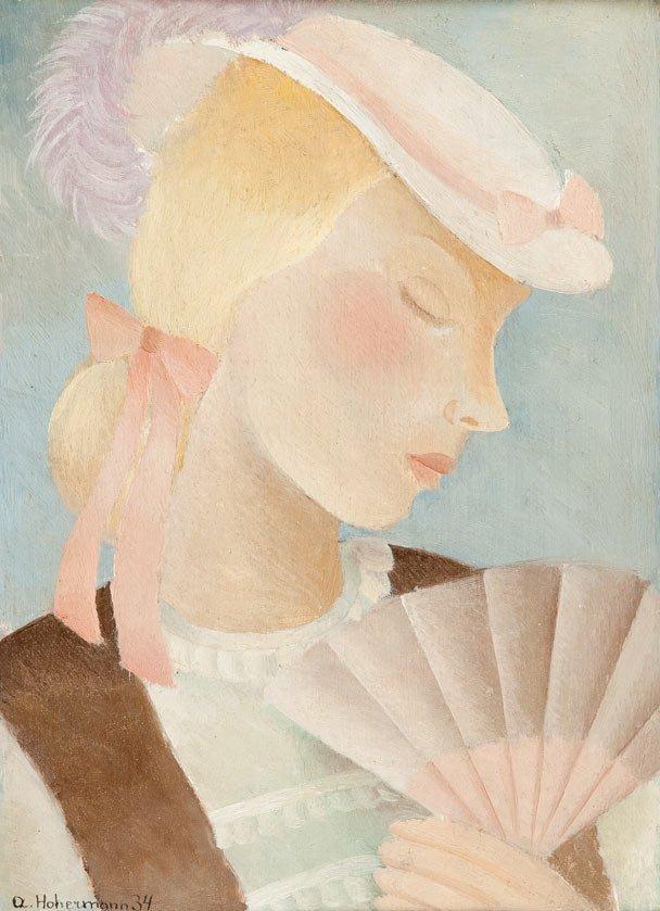 Alicja Hohermann (1902 Warsaw - circa 1943 Treblinka)