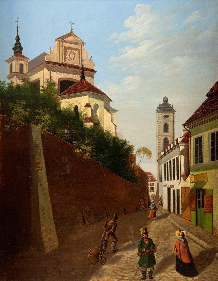 Warsaw painter, XVIII/XIX th century Old Town
