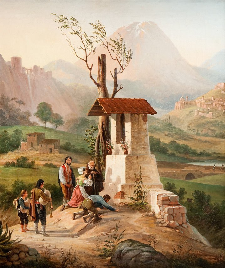 January Suchodolski (1797 Grodno - 1875 Boim near