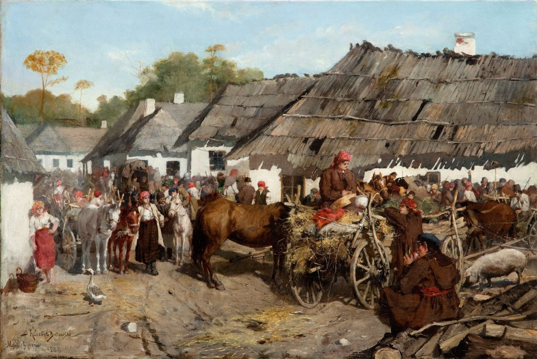 Stanislaw Batowski- Kaczor (1866 Lwow - 1946 Lwow)