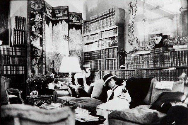 Shahrokh Hatami (b. 1928) Coco Chanel lifetime print,