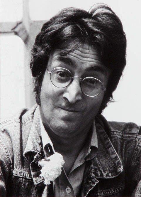 Jean Pierre Fizet (b. 1942)  John Lennon lifetime