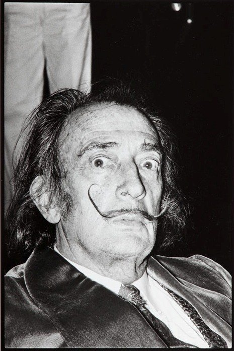 Alain Nogues (b. 1937)  Salvador Dali lifetime print,
