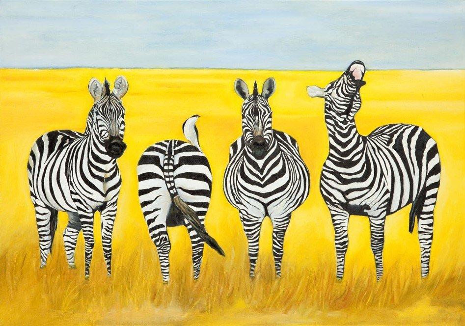 Grupa Artme (data utworzenia: 2012 ) Four zebras, 2013