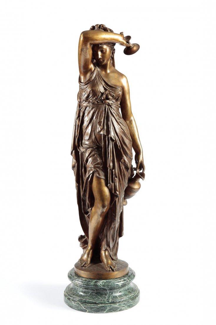 "Jean - Louis Gregoire (1840 Paris - 1890) ""Zrodlo"""