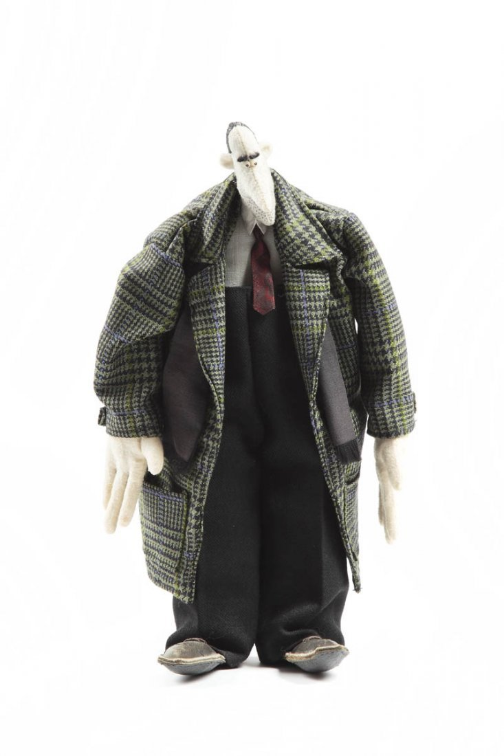 Pawel Althamer (b. 1967, Warszawa) Doll, '90/XX w. self