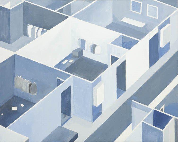 Joanna Pawlik (b. 1974, Krakow) Untitled, 2004  oil on